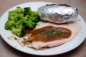 1. Roast Fresh Turkey - delivery menu