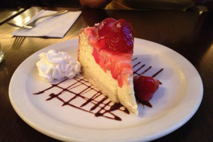 Strawberry Cheesecake - delivery menu