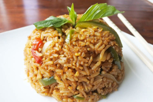Thai Basil Fried Rice - delivery menu