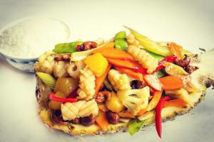Pineapple Calamari Stir-Fry - delivery menu
