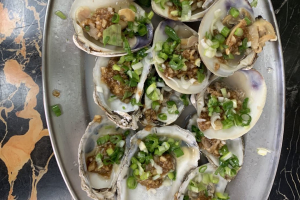 Steam Clams and Oyster - delivery menu