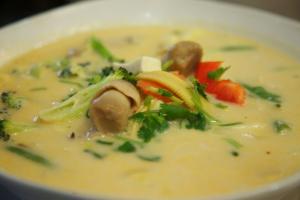 36. Tom Kha Pak Soup - delivery menu