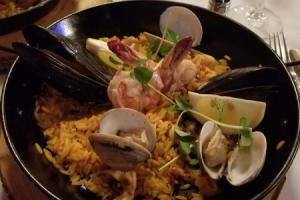 Seafood Paella - delivery menu
