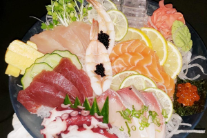 Deluxe Sashimi Mixed - delivery menu