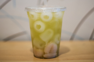 Iced Lychee Green Tea - delivery menu
