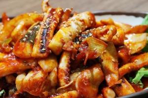 Spicy Squid Stir Fry - delivery menu