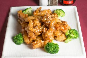 43. Sesame Chicken - delivery menu