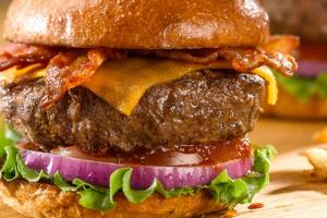 The Half-Pounder Burger - delivery menu