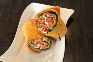 Eggplant Italiano Wrap - delivery menu