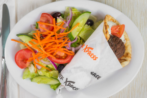 L8 - Falafel or Zucchini Pita Sandwhich - delivery menu