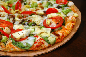 Vegetarian Pizza - delivery menu