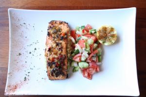 Mediterranean Salmon Dinner  - delivery menu