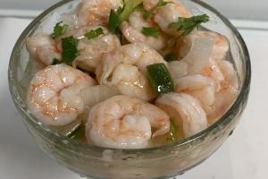 51C. Shrimps Ceviche - delivery menu