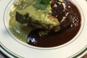Chuleta de Puerco a Los Dos Moles - delivery menu