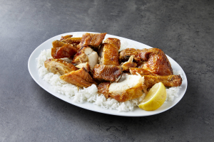 304. Half Crispy Skin Chicken - delivery menu