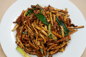 57. Shredded Pork with Dried Bean Curd - delivery menu