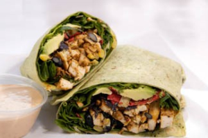 Blackened Chicken Wrap - delivery menu