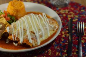 Enchiladas Dinner - delivery menu