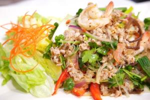 23. Yum Woonsen Salad - delivery menu