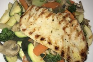 Grilled chicken Primavera  - delivery menu