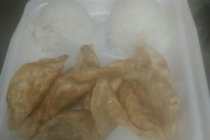12 Piece Gyoza Plate Teriyaki Lunch - delivery menu