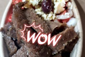 Greek Salad Lamb - delivery menu