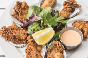 Crispy Oysters - delivery menu