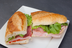 #5 Ham and Salami Sandwich - delivery menu