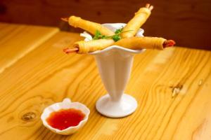 Shrimp Crisps - delivery menu