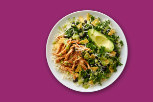 Chicken Tinga Bowl - delivery menu