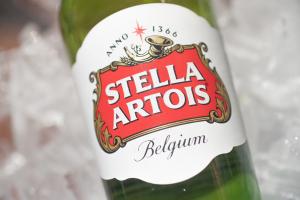 Stella Artois (Beligian, 5.2% Alc) 11.2 oz Bottle or 6-Pack Bottles - delivery menu
