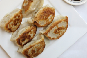 6 Piece Fried Pork Dumplings - delivery menu