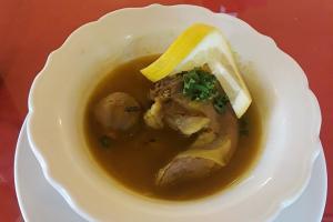 17. Lamb Tongue Soup - delivery menu