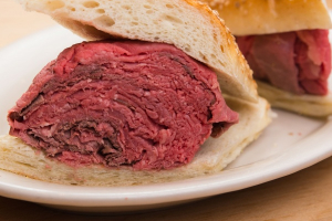 Slow Cooked Roast Beef Sandwich - delivery menu