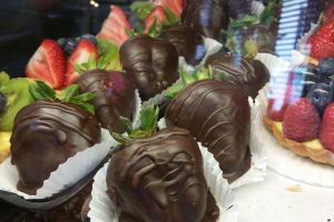 Chocolate Dipped Strawberries - delivery menu