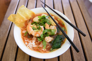 Spicy and Sour Seafood Noodle * - delivery menu
