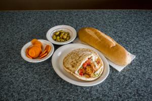 Chicken Kabab Sandwich - delivery menu