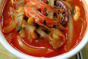 Shrimp Champ Pong - delivery menu