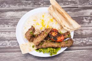 Koobideh Beef Plate - delivery menu