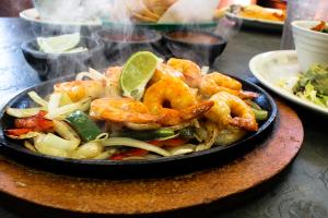 Shrimp Fajitas - delivery menu