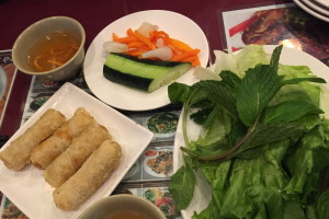 34. Vietnamese Spring Roll - delivery menu