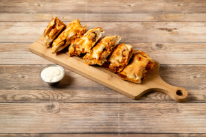 Buffalo Chicken Calzone - delivery menu