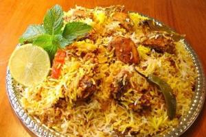 57. Chicken Biryani - delivery menu