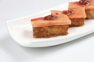Crispy Rice with Salmon - delivery menu