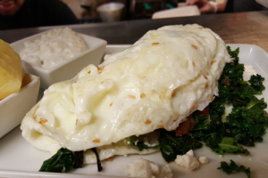 Super Kale Omelet Breakfast - delivery menu