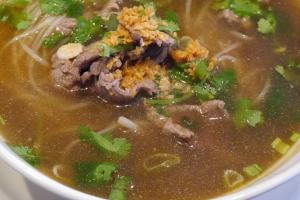 14. Thai Beef Noodle Soup - delivery menu