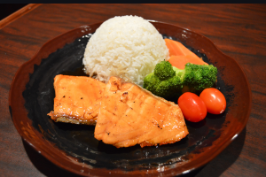 E2. Salmon Teriyaki - delivery menu