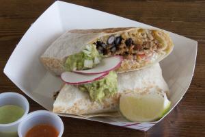 2. Al Pastor Burrito - delivery menu