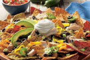 CHICKEN NACHOS - delivery menu