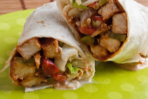 #6. Grilled Chicken Sweet BBQ Wrap Lunch - delivery menu